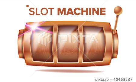 Slot Machine Vector.  40468537