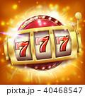 スロット ベクトル カジノのイラスト 40468547