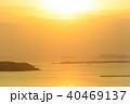 火の山公園から眺める夕陽 40469137