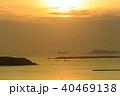火の山公園から眺める夕陽 40469138