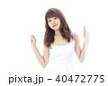 若い女性 ヘアスタイル 40472775
