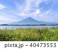 河口湖と富士山-7568 40473553