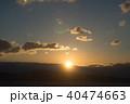 海からの日の出 40474663