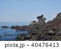 済州島 用 龍頭岩の写真 40476413