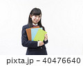 女性 学生 ブレザーの写真 40476640
