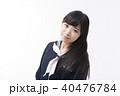 セーラー服 女学生 女子高生の写真 40476784