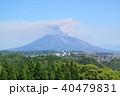 かごしま健康の森公園から見る桜島の噴煙 40479831