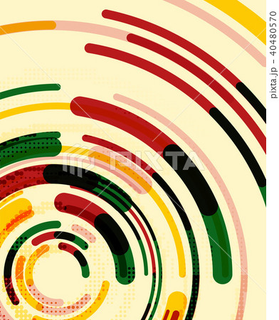 Circular lines, circles, geometric abstract background 40480570
