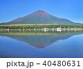 山中湖の逆さ富士-7550 40480631