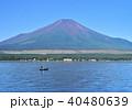 山中湖と富士山-7559 40480639
