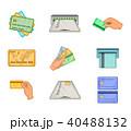 クレジット 単位 カードのイラスト 40488132