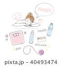 女性 美容 イメージセット 40493474