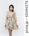 女性 若い ファッションの写真 40494376