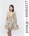 女性 若い ファッションの写真 40494377
