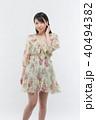 女性 若い ファッションの写真 40494382