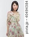 女性 若い ファッションの写真 40494384