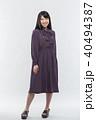 女性 若い ファッションの写真 40494387