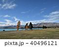 テカポ湖 湖 風景の写真 40496121