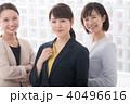 笑顔 20代 ビジネスウーマンの写真 40496616