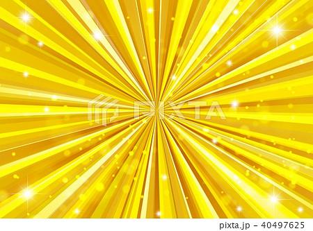 金色放射線背景 40497625