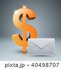 ドル アイコン ベクタのイラスト 40498707