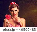 キャンディー 飴 ペロペロキャンディの写真 40500483