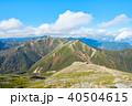 常念岳 山頂 秋の写真 40504615