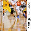 バスケットボールの試合 40508209