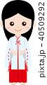 人物 職業 制服 (女性)巫女 40509292