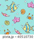 シームレス パターン 柄のイラスト 40510730