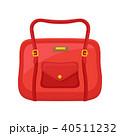 ハンドバッグ 手提げ がま口のイラスト 40511232