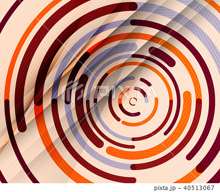 Circular lines, circles, geometric abstract background 40513067
