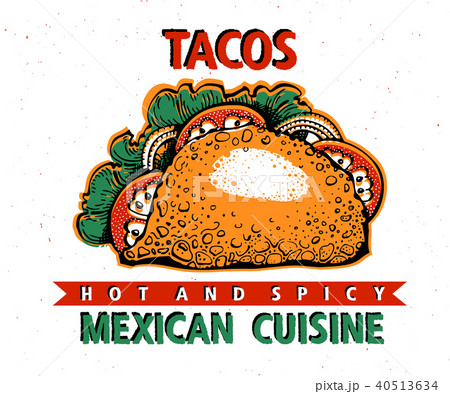 taco mexican food traditional mexican cuisine banner template