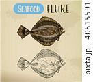 シーフード 海の幸 魚介類のイラスト 40515591