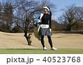 人物 女性 ゴルフの写真 40523768