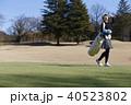 人物 女性 ゴルフの写真 40523802