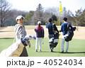 ゴルフをする女性 40524034