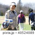 人物 女性 ゴルフの写真 40524089