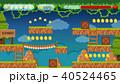 ゲーム ジャングル 密林のイラスト 40524465