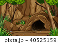 洞窟 前途多難 岩のイラスト 40525159