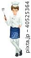 シェフ ベクトル 料理のイラスト 40525364