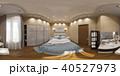 3d illustration spherical 360 degrees, seamless panorama of bedr 40527973