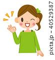 OKサイン OK 女性のイラスト 40529387