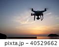 ドローン 飛行 海の写真 40529662