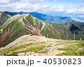 常念岳 山頂 秋の写真 40530823