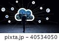 ビジネス ネットワーク クラウドの写真 40534050