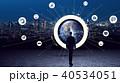 ビジネス ネットワーク クラウドの写真 40534051