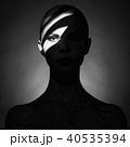影 陰影 女の写真 40535394