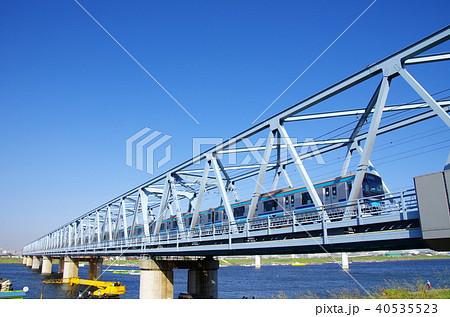 東京メトロ東西線(第二江戸川橋梁) 40535523