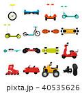 Different urban parks activity sport transport  40535626
